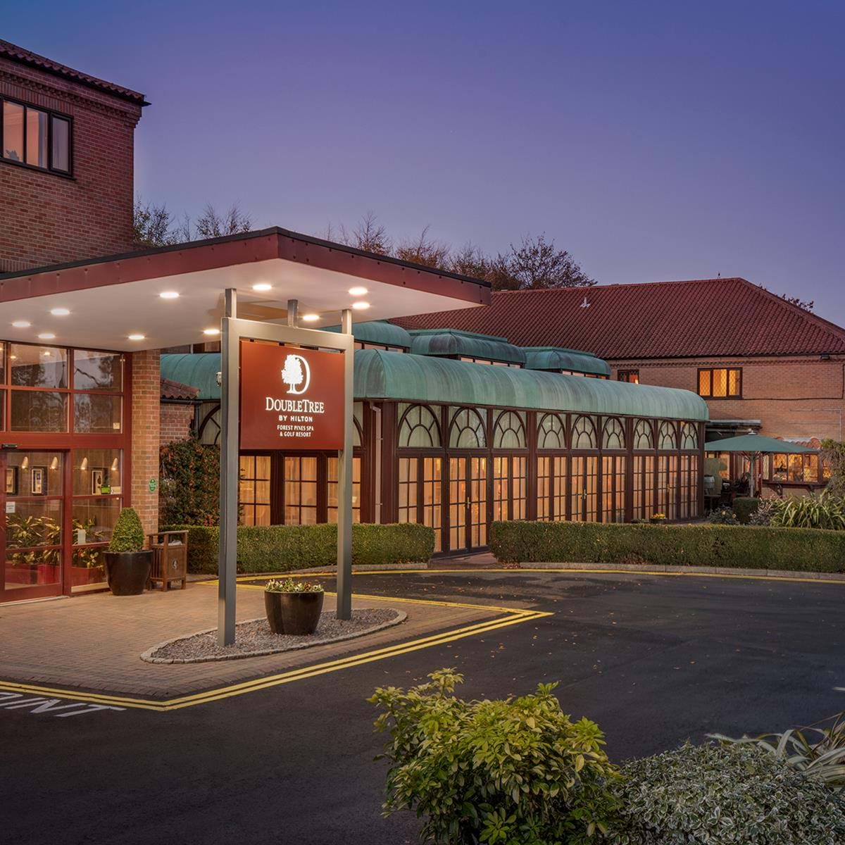 Doubletree Forest Pines 4 Star Luxury Hotel In Scunthorpe