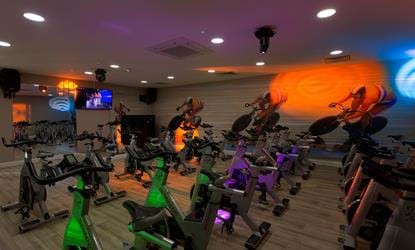 spin class doubletree by hilton forest pines