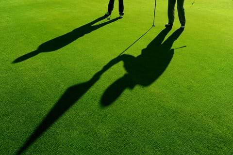 golfers shadow doubletree by hilton forest pines